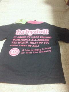 BABY DOLLTシャツ新品