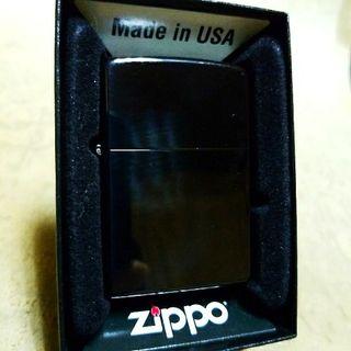 新品14A'Zippoブラックホールチタンコート送料無料