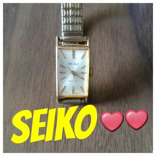 本日限定っ【美品】Seiko Angelsゴールド腕時計