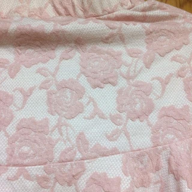 emsexcite ピンクのバラのマーメイドスカート