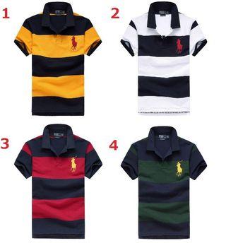 送料無料新品POLOポロ ラルフローレン男性用Tシャツ4色