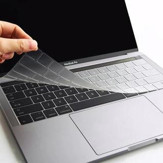 Mac キーボードカバー 透明 クリア 防水 シリコン