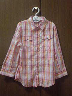 ROSEGIRLチェックシャツ