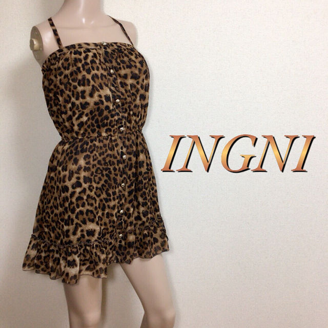 イング INGNIバッククロス ワンピース(INGNI(イング) ) - フリマアプリ&サイトShoppies[ショッピーズ]