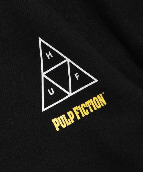 HUF×PULP FICTION パーカー ブラック  M