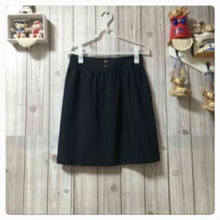 pour la frime ネイビーのスカート