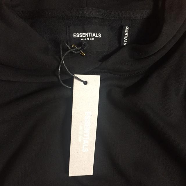 反射光りM-XL fog essentials パーカー