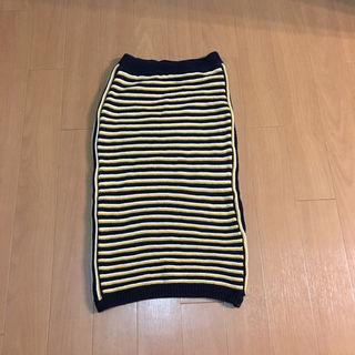 moussyニット スカート