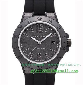 ブルガリ ディアゴノ マグネシウム腕時計