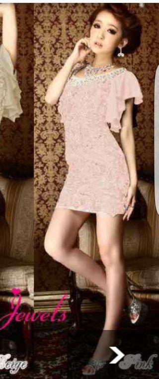 jewelsピンクドレス