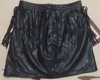 H&M 皮スカート