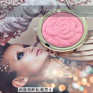 日本未発売ROSE POWDER BLUSH