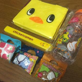 チキンラーメンひよこちゃんグッズセット非売品オリジナル