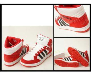 新品adidasアディダスVLNEO H M赤他27.5cm