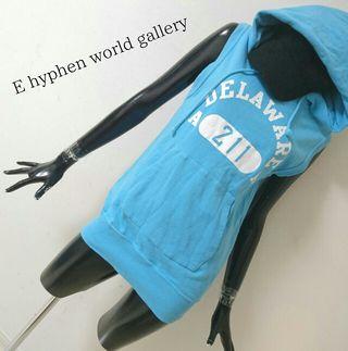 E hyphen world gallery*パーカーベスト