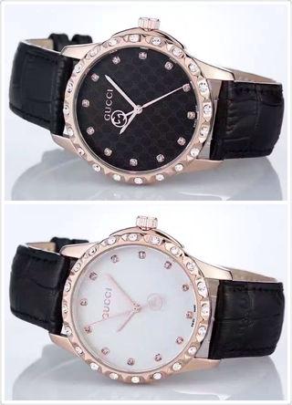多色入 GUCCIグッチ2-70 腕時計 バンドレザー