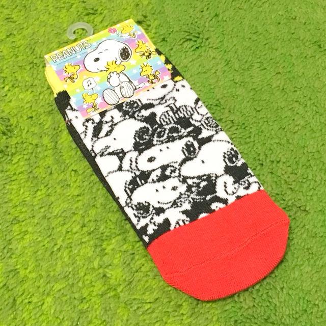 [19cm~24cm]スヌーピー/カラフル靴下(ソックス)3