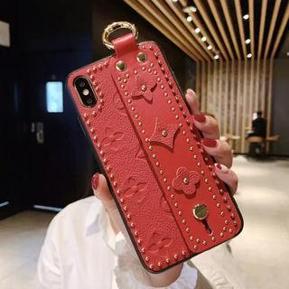 iPhoneX/iPhoneXSケースレッド