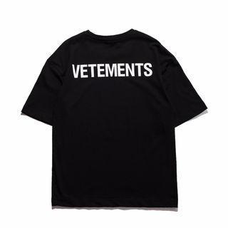 早い者勝ち  ヴェトモン Tシャツ 半袖VYF-0588