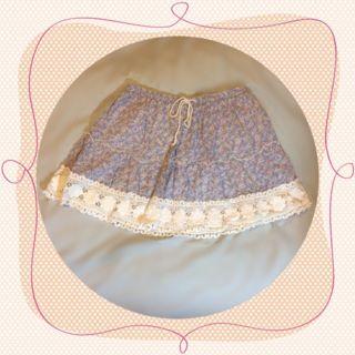 WONDER ROCKET 小花柄 ミニスカート