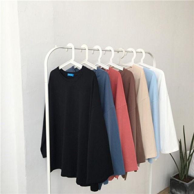 シンプル ロングスリーブ 長袖Tシャツ(ノーブランド ) - フリマアプリ&サイトShoppies[ショッピーズ]