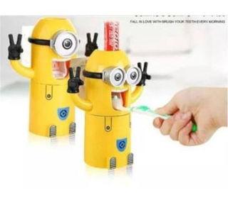 ミニオン歯ブラシ置き