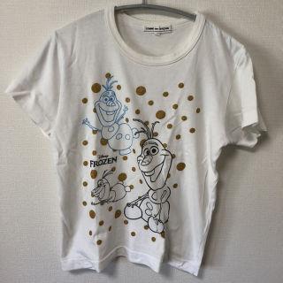 Tシャツ コムデギャルソン×アナ雪 オラフコラボ 激レア