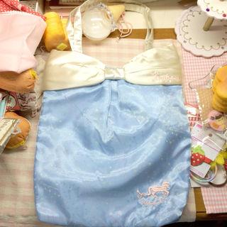 SWIMMER ユニコーン刺繍ゆめかわトートバッグ