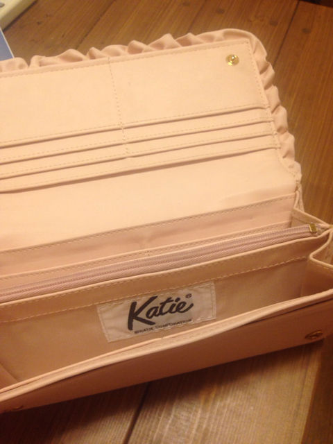 Katie wallet pink(Katie(ケイティー) ) - フリマアプリ&サイトShoppies[ショッピーズ]