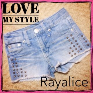 Rayaliceスタッズ/デニム