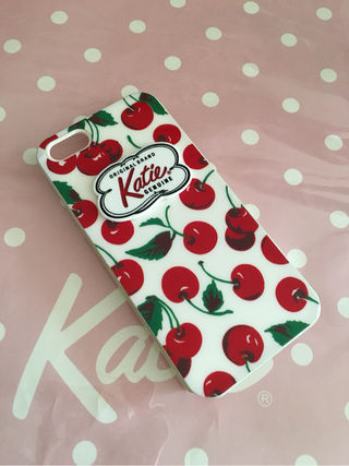 katie ケイティ iPhone5/5S スマホケース