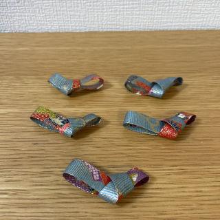【未使用】和柄箸置き(和紙)5個セット