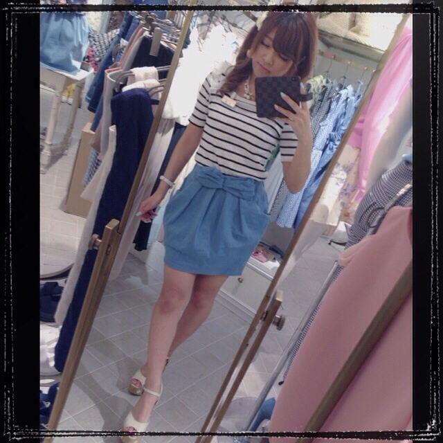 MIIA リボン スカート