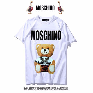 moschinoTシャツ 男女兼用 新品 ms-15