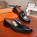 エルメス新作メンズ靴スニーカー革靴シューズローファー