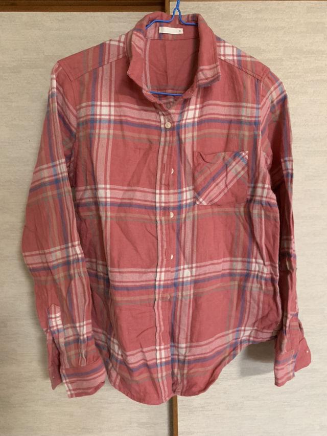 チェックシャツ(GU(ジーユー) ) - フリマアプリ&サイトShoppies[ショッピーズ]