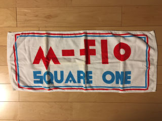 m-flo タオル