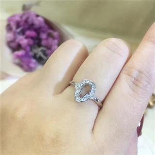 国内発送 ティファニー 可愛い指輪リング
