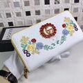 グッチ オシャレ 財布 可愛いバラ色