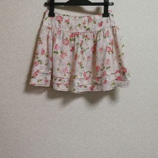 LAISSE PASSE花柄スカート