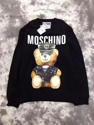 MOSCHINO/モスキーノ クマ柄 黒色