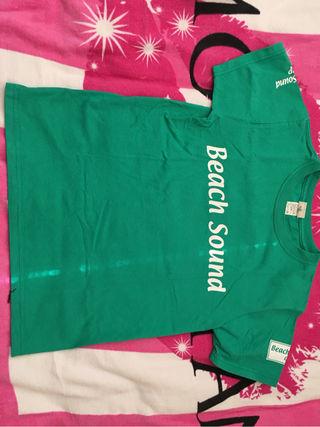 Beach Sound美品Tシャツ緑
