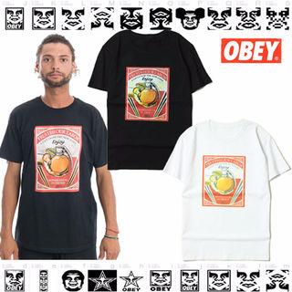 OBEY/オベイ Tシャツ 白黒 夏 激安