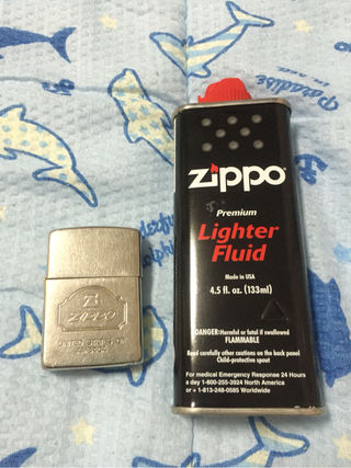 ZIPPO オイルライター オイル付き