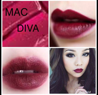 ディーバ 大人気カラー MAC リップ 口紅