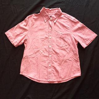 アメリカンイーグルシャツ ブラウス ピンク