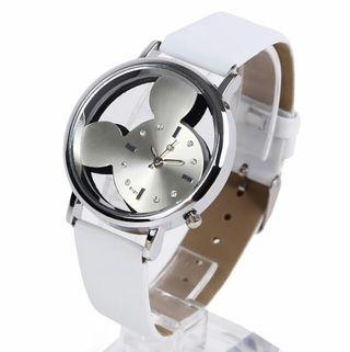 [希少]ミッキー マウス ホワイト 腕時計