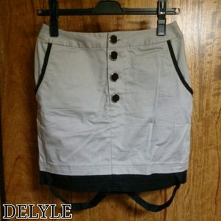 DELYLE*未使用サスペ風スカート