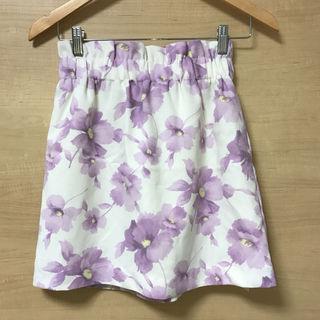 新品 ByeBye 花柄スカート