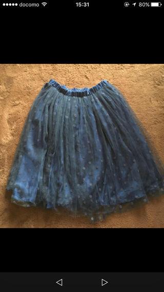 美品!アーバンナウのシフォンスカート!